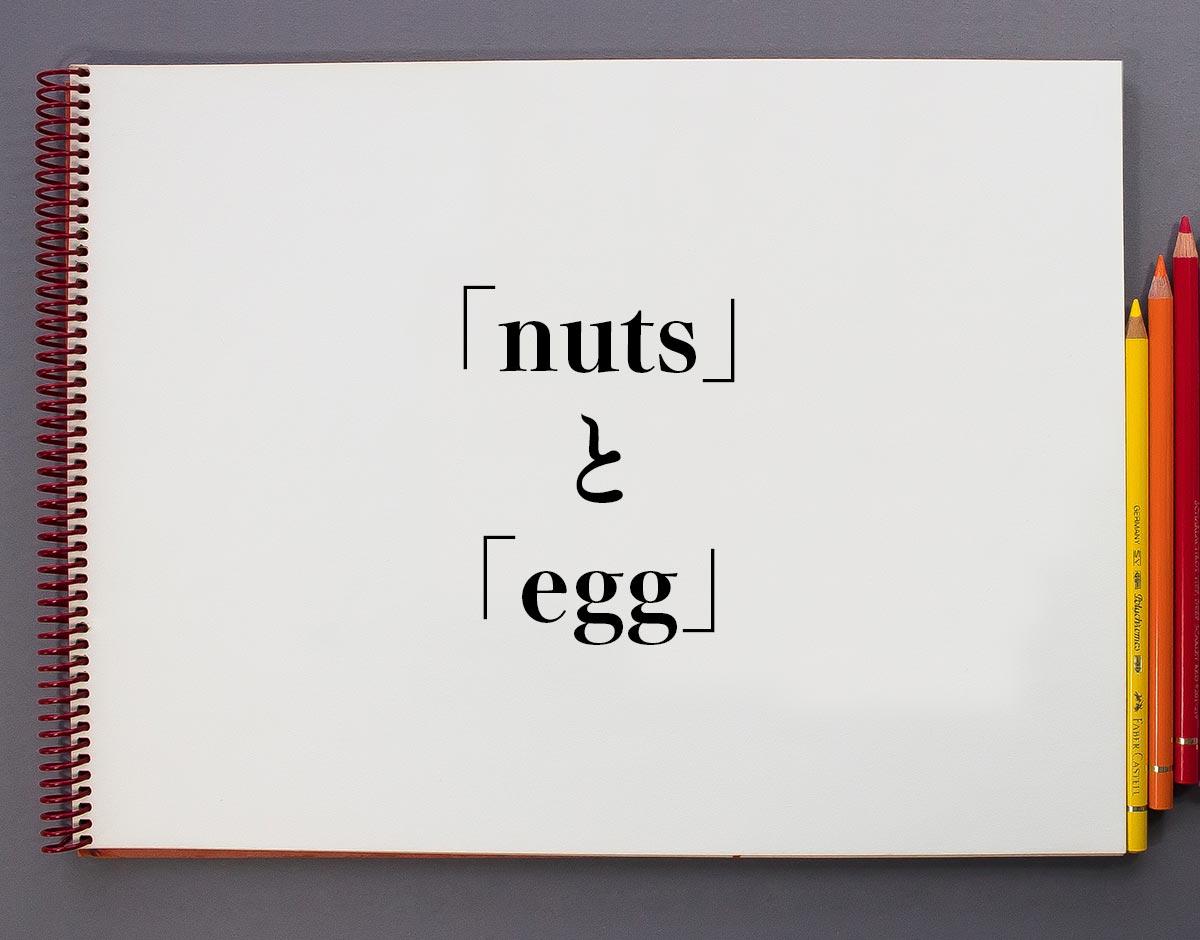 雑誌の「nuts」と「egg」の違い