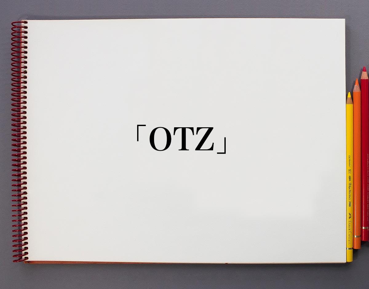「OTZ」とは?